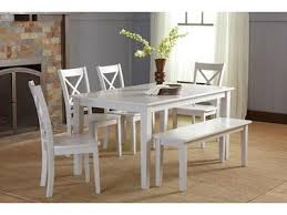NEW 6 Piece Dining Table Set 4 Colors