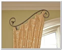 Kohls Traverse Curtain Rods by Decorative Curtain Rods With Regard To Your Property Csublogs Com