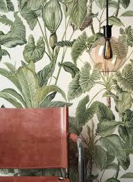 newroom vliestapete blumentapete grün weiß wallpaper floral