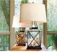 Fillable Glass Lamp Ideas by Bedside Lamps Glass Lamps And Lighting