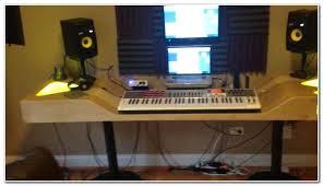 Recording Studio Desk Admirable Home Recording Studio Desk Desk