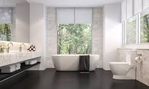 33 black and white bathroom tile ideas designs pictures