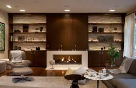 hidden tv cabinet living room contemporary with shelves glass fireplaces