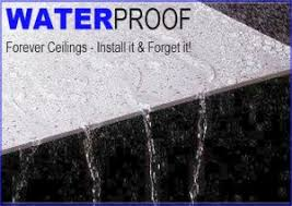 waterproof ceiling tiles a choice suspended ceiling