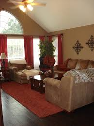 Living Room Curtains Ideas Pinterest by Warm Family Room Red U0027s And Browns For The Home Pinterest