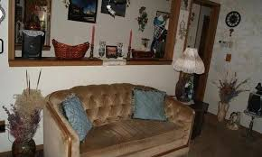 Living Room Cluttered Too Many Items Visual Distractions Poor Bad Staging Fort Morgan Colorado Home House