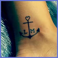 Anchor Tattoo For My Kids Children Keep Me Grounded They Represent Stability And
