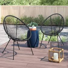 Acapulco Chair All Weather Resort Grade Outdoor Patio Sun Chair 2 Piece  Set, Papasan Chair(Black) Details About Set Of 2 Allweather Oval Weave Lounge Patio Acapulco Papasan Chair Orange Black Resortgrade Chairs The Cheap Replica Designer Indoor Outdoor In Grey White On Frame Amazoncom With Fire Pit Chair 3d Model Items 3dexport Add Zest To Any Space Part Iii Sun Blue Brand New Pieces Red Egg Chair Modern Pearshaped Retro Adult