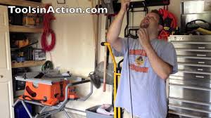 Racor Ceiling Mount Bike Lift Instructions by Racor Ldl 1b Ladder Lift Overhead Ladder Storage Youtube