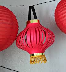 Kinds Of Colorful Chinese Paper Lantern Craft Diy Crafts Features Printable