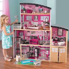 DIY LED Wooden Dollhouse Miniature Wooden Furniture Kit Doll House