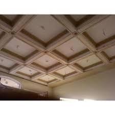ceilume madison sand coffered ceiling tile 2 feet x 2 feet lay