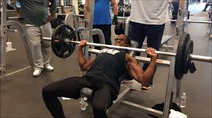 Heavy Incline Bench Press With The Crew September 5 2015