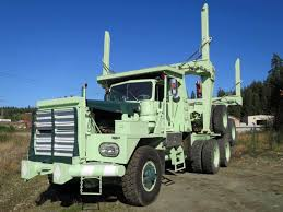 Kenworth 850 Pre Load T/A Off Highway Log Truck & Trailer ...