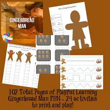 Gingerbread Man Theme And Lesson Plans For Playful Learning In