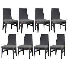 J A Casillas Lacquered Dining Chairs For Sale