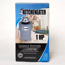 Badger Sink Disposal Troubleshooting by Kitcheneater Ke1pc 1 Hp Garbage Disposer Food Waste Disposers
