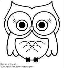 Simple Cute Owl Drawing 3d3bf848c2aea1b57ae50406660dd889