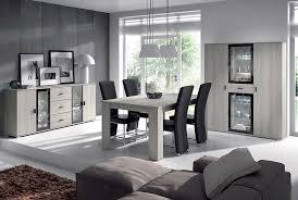 salle a manger complet salle à manger complète coloris chêne gris