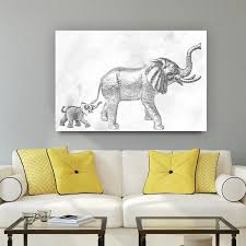 Baby Elephant Shower Curtain Royals Courage Cute