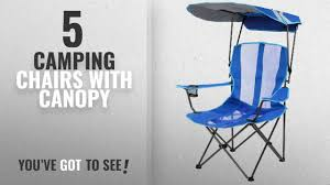 Top 5 Camping Chairs With Canopy [2018]: Kelsyus Original Canopy Chair,  Royal Blue