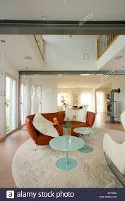 modernes wohnzimmer modern living room stock photo alamy