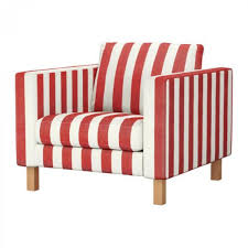 Karlstad Armchair Cover Grey by Ikea Karlstad Armchair Slipcover Chair Cover Rannebo Red White