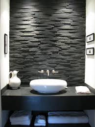 modern minimalistisch bad gestalten waschtisch granit