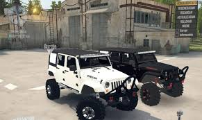 Jeep Wrangler Rubicon V1.0 – MudRunner – Free SpinTires Mod, Map ... Jeep Wrangler Unlimited Rubicon Vs Mercedesbenz G550 Toyota Best 2019 Truck Exterior Car Release Plastic Model Kitjeep 125 Joann Stuck So Bad 2 Truck Rescue Youtube Ridge Grapplers Take On The Trail Drivgline 2018 Jeep Rubicon Jl 181192 And Suv Parts Warehouse For Sale Stock 5 Tires Wheels With Tpms Las Vegas New Price 2017 Jk Sport Utility Fresh Off Truck Our First Imgur Buy Maisto Wrangler Off Road 116 Electric Rtr Rc