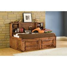 Cindy Crawford Bedroom Furniture by Visions Studio Bedroom Bed U0026 Underdresser Twin Cocoa 4315