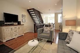 Living Room In The Middle Of Front Door