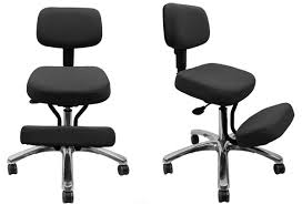 Ergonomic Kneeling Office Chair With Back by The Jazzy Kneeling Chair Jobri