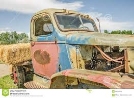 Aging Truck Still Colorful Stock Image. Image Of Engine - 99258973