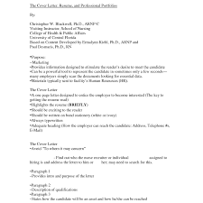 Nursing School Cover Letter 1 Free Resumes Tips
