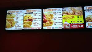 cuisine tv menut flat bigscreen tv menu boards yelp