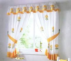 White Kitchen Curtains With Sunflowers by 23 Best Kitchen Decor Images On Pinterest Sunflower Themed