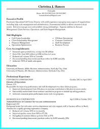Call Center Resume Sample No Experience For Job With
