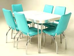 Retro Dining Table And Chair Kitchen Tables Chairs On For
