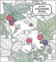Amazon Garden COLORING BOOK 9784768305911 Mihoko Kurihara Books