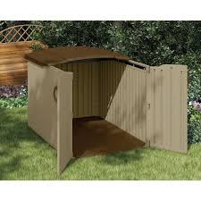 Rubbermaid Outdoor Storage Shed 7x7 by Great Low Profile Storage Shed 86 On Rubbermaid Roughneck 7x7