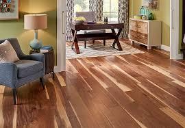 A Walnut Engineered Wood Floor In Living Room