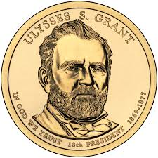 Ulysses S Grant Presidential 1 Coin