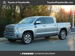 Pre-Owned 2017 Toyota Tundra 4WD Platinum CrewMax 5.5' Bed 5.7L FFV ...