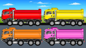 100 Construction Trucks Video Kids Learn Coloring With Learning For