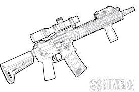 Kitfox Firearms Coloring Book KitfoxBook By