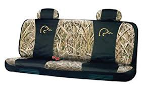 Amazon Ducks Unlimited Seat Cover Full Bench Shadow Grass