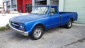 100 8 Lug Trucks 1967 GMC C20 C10 50L 305CI V6 Blue Long Bed LUG HD Chevrolet Rat