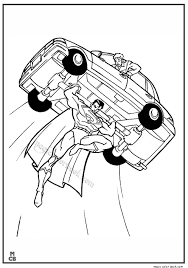 Superman Coloring Pages Printable 14
