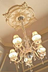 Split Design Ceiling Medallion by Chandelier Plate For Ceiling 126 Stunning Decor With Chandelier