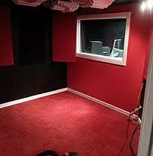Acoustically Designed Drum Vocal Booth